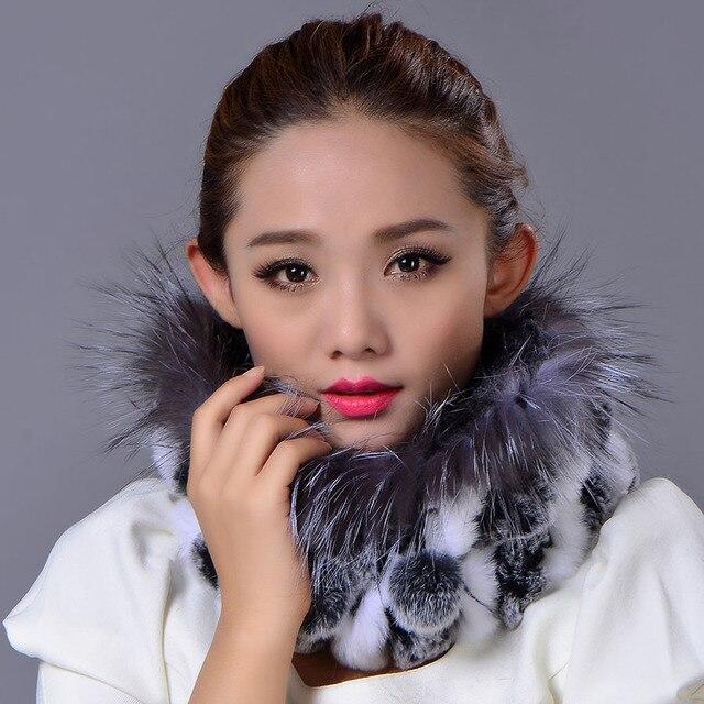 2016  Hat Women Cap Real Fox Fur Color Striped Genuine Caps New Adult Rex Rabbit Fur Color Warm Elegant Casual Beanies Hat