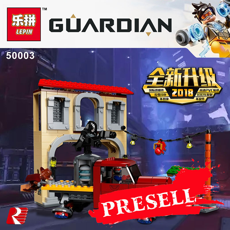 Lepin 50003 Overwatching Games Compatible Legoing 75972 Dorado Showdown Set Building Blocks Bricks Educational Toys Christmas цена