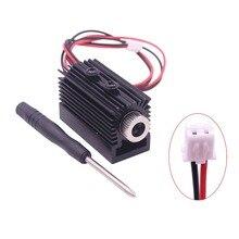 1000 mw 1500 mw 405nm Blueviolet Luce Laser Testa del laser Modulo Incisore Accessorio per la Macchina Per Incidere di CNC laser Intagliare