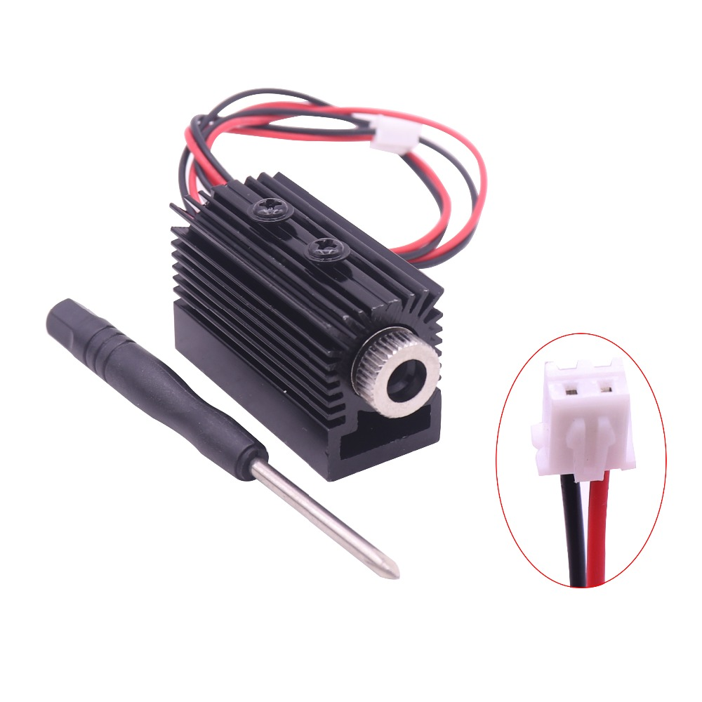 1000mW 1500MW 405nm Blueviolet Light Laser Head Laser Module Engraver Accessory For CNC Laser Carving Engraving Machine