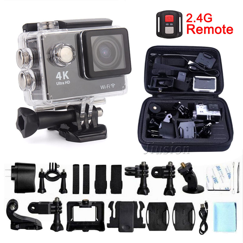 Ultra HD WiFi 4K 1080P Action Mini Camera Waterproof Sport Cam Helmet Go Pro Style For Xiao Mi Yi Water Resistant Camcorder