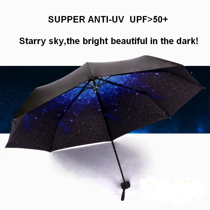 black coating umbrella anti uv folding sun umbrella blue. Black Bedroom Furniture Sets. Home Design Ideas