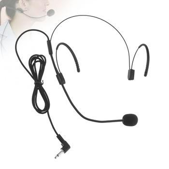 Zestaw słuchawkowy z mikrofonem przewodowy mikrofon pojemnościowy 3 5mm do zastosowania dla nauczyciela przewodników wywiadów występów wystąpień tanie i dobre opinie NoEnName_Null Other Mikrofon komputerowy Pojedyncze Mikrofon CN (pochodzenie) Jednokierunkowy