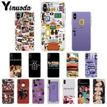 Yinuoda Friends Season TV DIY Luxury High-end Protector Case for iPhone 7 7plus 5 5Sx 6 8 8Plus X XS MAX XR