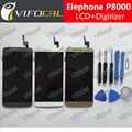 Elephone P8000 LCD Display + Touch Screen + Tools 100% Original Digitizer Assembly Replacement Repair Accessories For Cell Phone