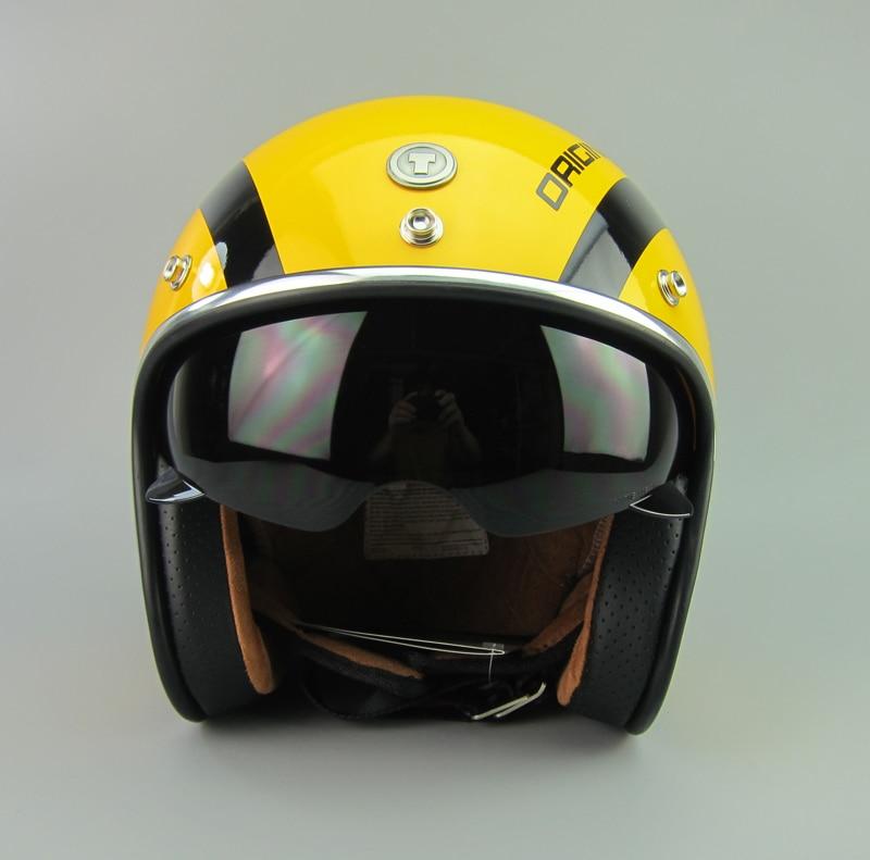 TORC motorcycle helmet half helmet cruise flight helmet with visor lens free shipping T57 free shipping motorcycle helmet sports ogk end oem fiberglass helmet half helmet retro glitter golden shiny