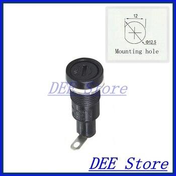 5x20 fuse block fuse holder Panel Mount fuseholder fuse holders for 5*20mm cylindrical Glass Tube/Ceramics fuse