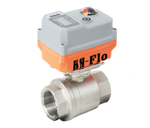 3 4 1 2 Way SS304 Motorized Electrical Control Proportional Integral Valve 4 20ma 12 24V