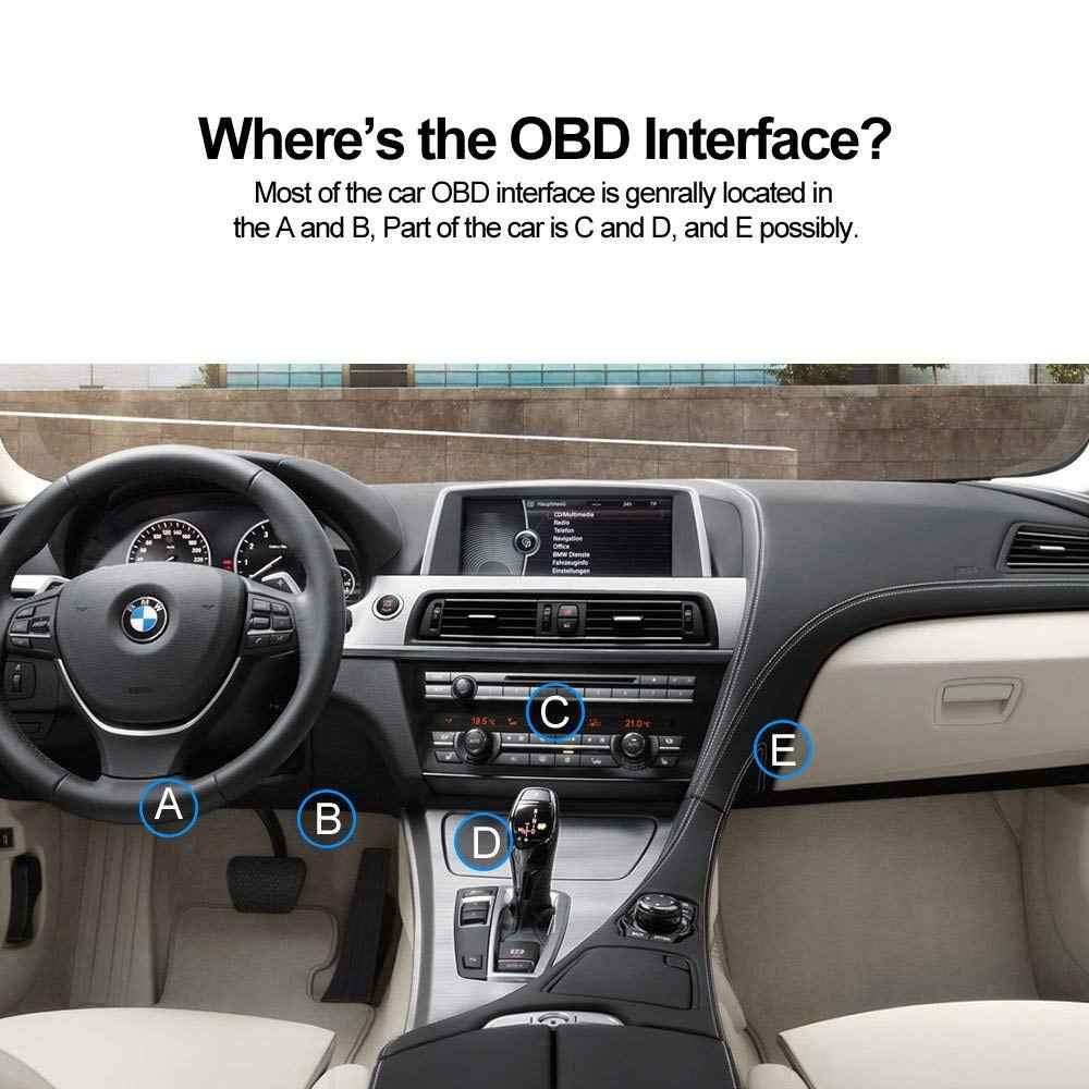 OBD2 Alat Diagnostik C01 Pembaca Kode OBDII Scan Alat untuk Mesin Mobil OBD-II/OBDII Kode Diagnostik Scanner Kode Reader