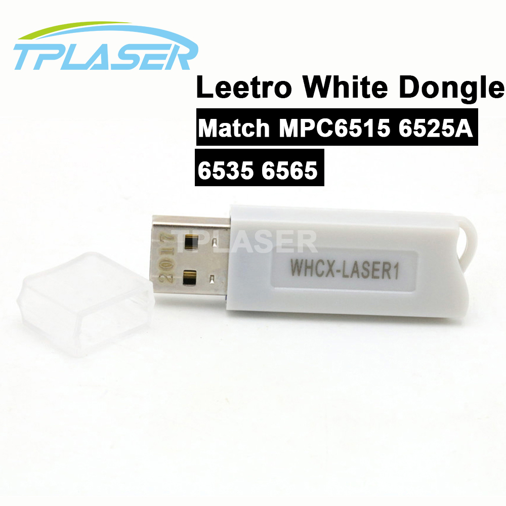 Leetro USB White Software Dongle Laser Controller MPC6535 MPC6565 for Laser Machine Leetro Software Free Shipping leetro mpc6515 laser controller board for sale mpc6515c controller system