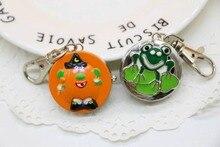 Новый бренд chaoyada мультфильм бронзовая лягушка дизайн дети ожерелья часы антикварные карманные часы подарок 10 шт./лот