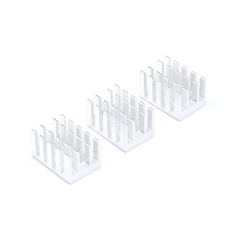 10 pcs Heatsink Radiator Cooling Fin Cooler Aluminum Heat Sink for IC Chip LED 191311mm 19X13X11mm (1)