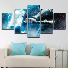 Thor Hammer Movie HD Print Painting Wall Art Canvas Modern Home Decor Picture Printed Poster Artwork