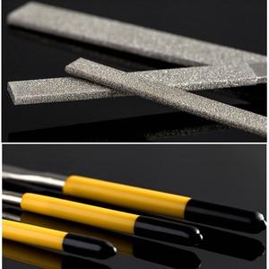 Стэнли 1 шт. 140 мм 160 мм 180 мм Алмазная игла плоский файл Отделочный Инструмент 150 зернистости шлифовки ручные файлы stl металлические деревянные рабочие инструменты