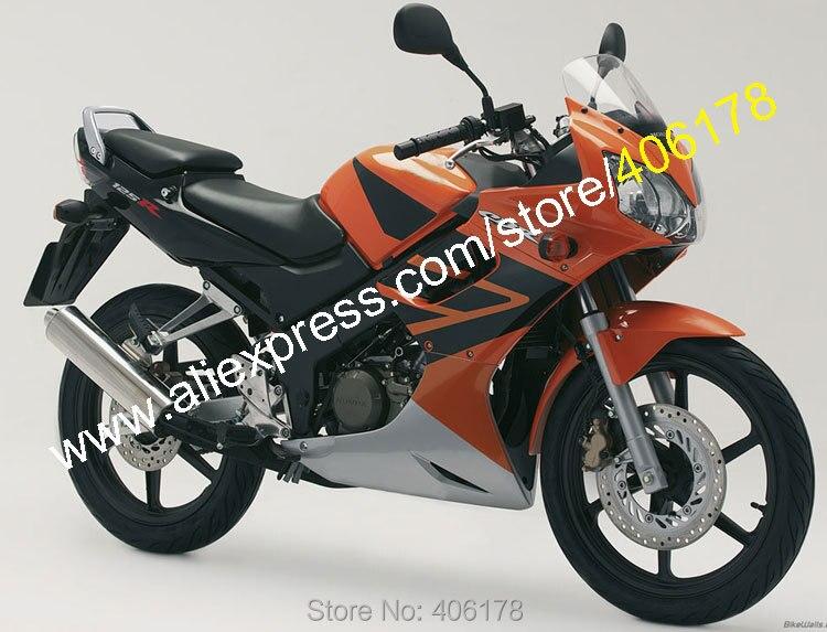 Горячие продаж,мода обтекатель для Honda CBR125R ЦБР 125Р с CBR 125RR 02 03 04 05 06 CBR125RR 2002 2003 2004 2005 2006 ABS обтекатель