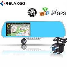 Relaxgo 5 Android Touch font b Car b font font b DVR b font GPS Navigation
