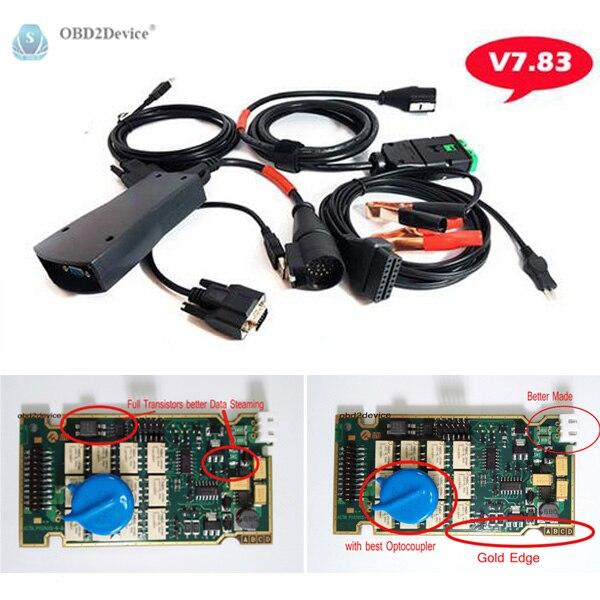 Цена за Полный чип 921815C Lexia3 PP2000 сканирования с 2 м OBD кабель Lexia 3 полный чип с Diagbox V7.83 программного обеспечения работать идеально