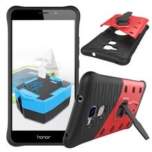Phone case for huawei honor 5c case силиконовые пк 2 в 1 гибридный жесткий задняя крышка для huawei honor 5c антидетонационных случаи оболочки мешок