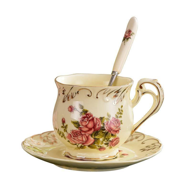 fleur café tasse-achetez des lots à petit prix fleur
