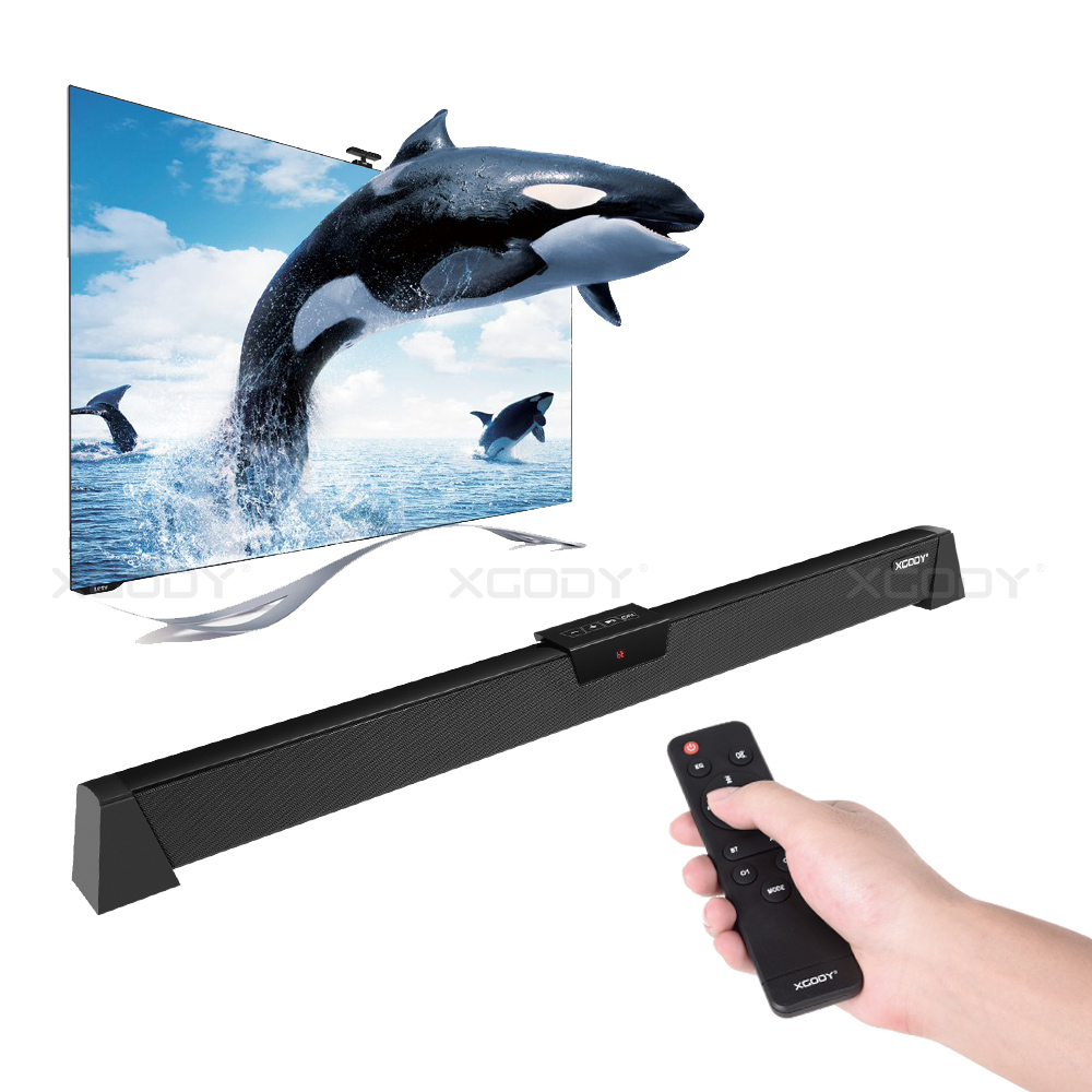 Xgody S-XS02 TV Bluetooth Speaker Soundbar Support Bluetooth Playback Optical Coaxial AUX Input For Home Sound Bar