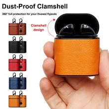 Protective Case For Huawei Honor Flypods Wireless Headset Protector Freebuds2pro Leather Cover High Quality