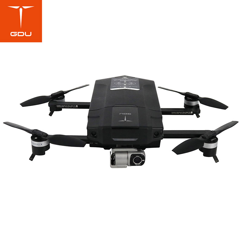 TOP Quality Original GDU O2 Foldable RC Drone Quadcopter with 4K HD with Camera GPS GLONASS VS DJI Mavic Air original yuneec typhoon h 480 pro drone with camera hd 4k rc quadcopter rtf 3 axis 360 gimbal vs dji inspire 2 mavicpro in stock