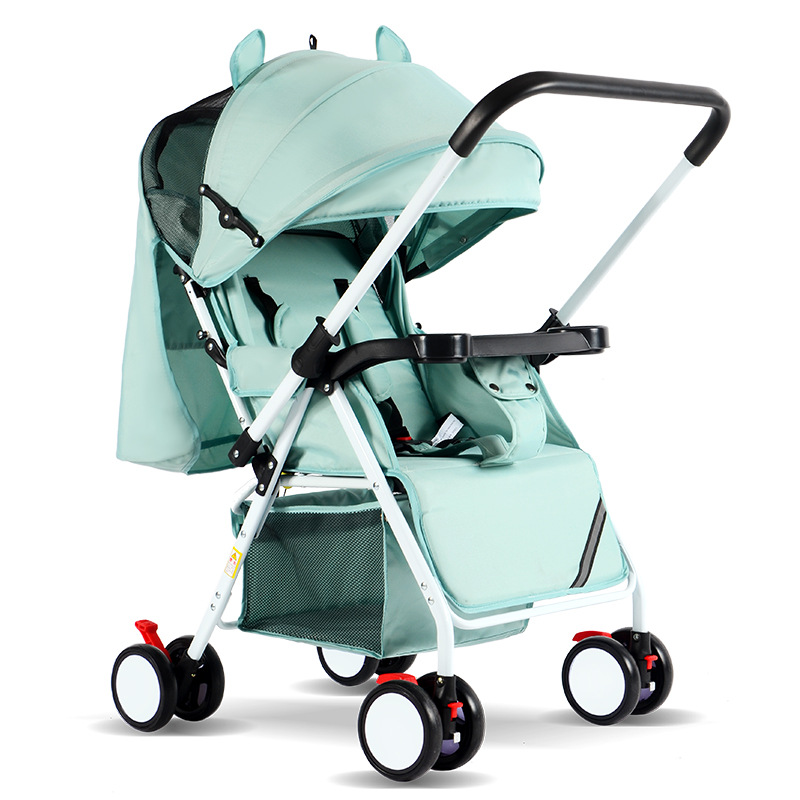 Bébé poussette chariot voiture Wagon se plie commodément 0-3 ans capacité de transport 25 kg cadre en acier bébé chariot landau livraison directe