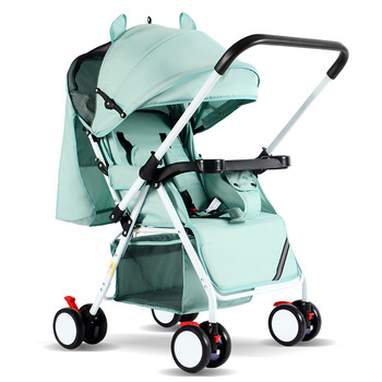Baby Stroller Trolley Car Wagon Folds Conveniently 0-3 Years Carrying Capacity 25 kg Steel Frame Baby Carriage Pram Dropshipping