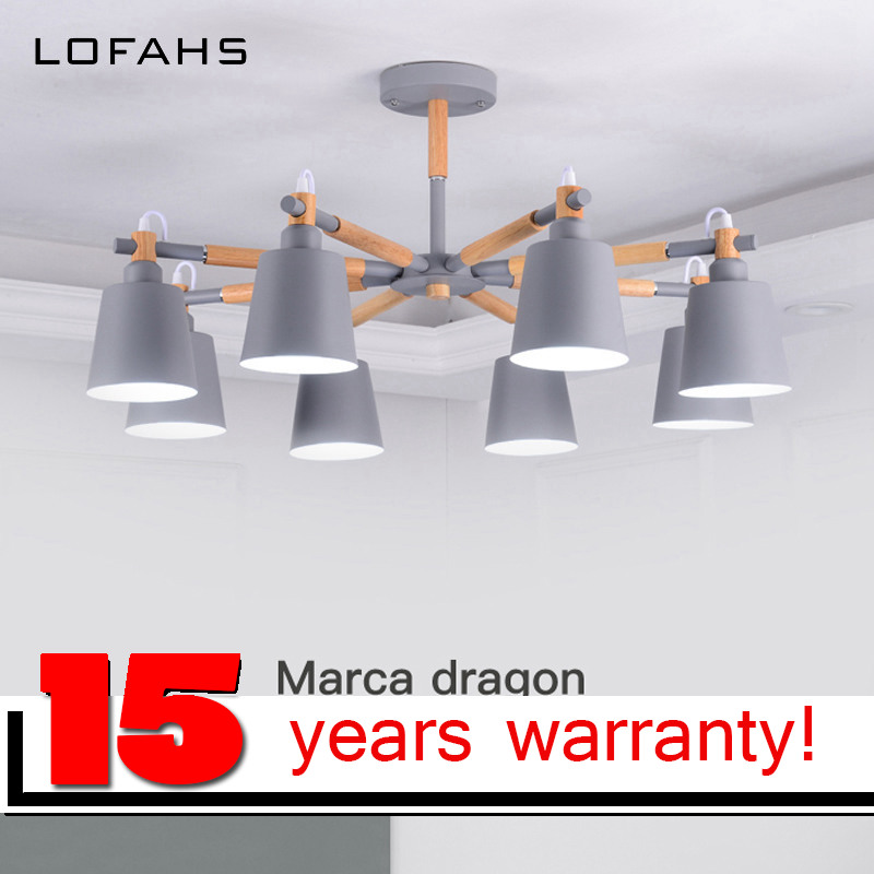 LOFAHS LED Ceiling Chandelier For Living Study Room Bedroom Modern led avize chandelier lighting lustre Elegant series