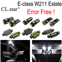 28pc X 100 Error Free LED Interior Light Lamp Kit Package For Mercedes Benz E Class