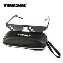 YOOSKE Deal With It Sunglasses Men Thug Life Glasses Women V