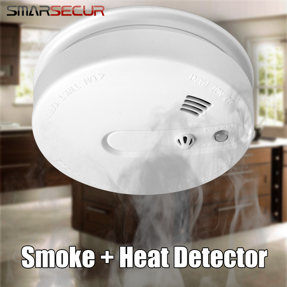 Smoke Sensor Can Detect Smoke And Heat Smoke Alarm Heat Alarm All For your Home Security Best In MarketSmoke Sensor Can Detect Smoke And Heat Smoke Alarm Heat Alarm All For your Home Security Best In Market