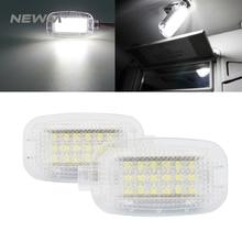 2X светодиодный фонарь для двери автомобиля, багажный фонарь для ног, теневые огни для Mercedes/Benz W204 W216 W217 W221 R230 C197 W212 W169 Canbus
