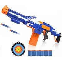 Kids Electric Air Soft Bullet Gun Toy Pistol Sniper Rifle Plastic Shooting Gun 20 Bullet 1