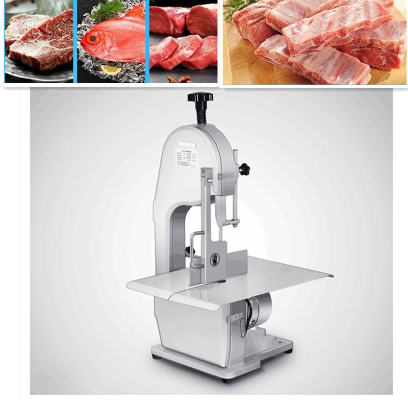 Máquina de corte de carne eléctrica comercial de 220 V máquina de cortar huesos de pescado congelado máquina de corte rápido UE/AU/ enchufe de Reino Unido