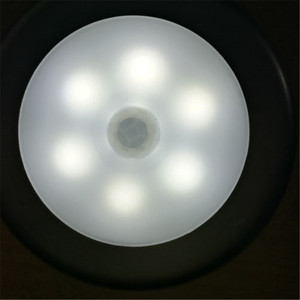 Image 5 - 6 LED אור מנורת PIR האוטומטי חיישן תנועת גלאי אלחוטי אינפרא אדום שימוש בבית מקורה ארונות/ארונות/מגירות /stairway