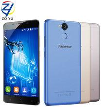 "Blackview P2 4G teléfono móvil 5.5 ""FHD MTK6750T Android6.0 Octa Core 4 GB RAM 64 GB ROM 13MP 6000 mAh Teléfono Móvil de Huellas Digitales"
