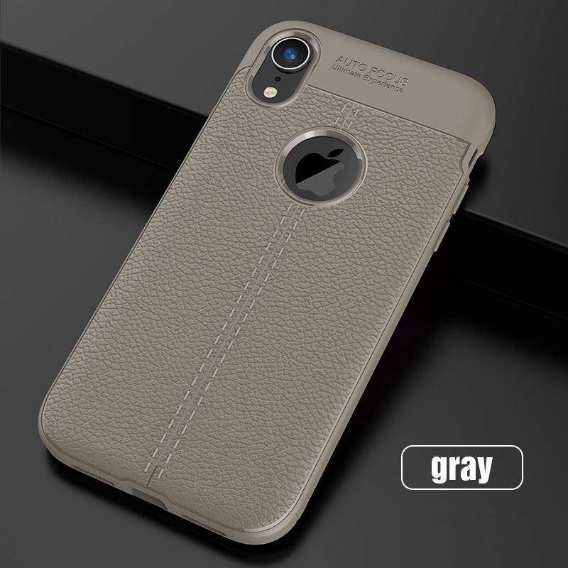 Carbon Silicone Case For iPhone Xs Xs Max Case 360 Luxury Leather Soft TPU Case For iPhone Xr Xs Max X 10 Case Coque             (15)