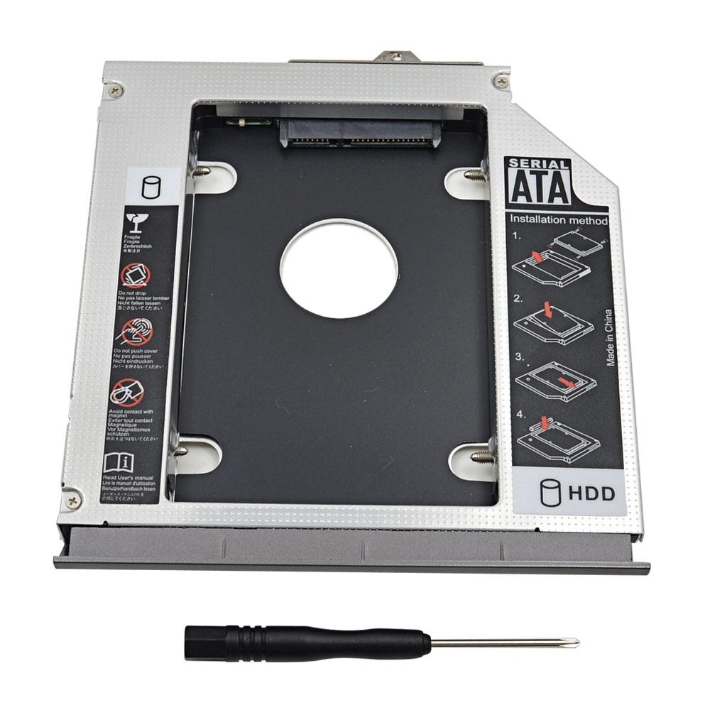 Aluminum 2nd HDD Caddy 12.7mm SATA 3.0 External Hard Drive ...
