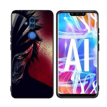 For Huawei Honor Mate 7C 7A 8 8X 9 9N 10 20 Nova 3 3e 3i  Pro Lite Black Silicon Phone Case Anime Bleach One Punch Man Style 1