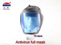 PROVIDE 0605B Full face mask Connectable Breathing tube Respirator mask Spray paint health Prevention Anti virus dust mask