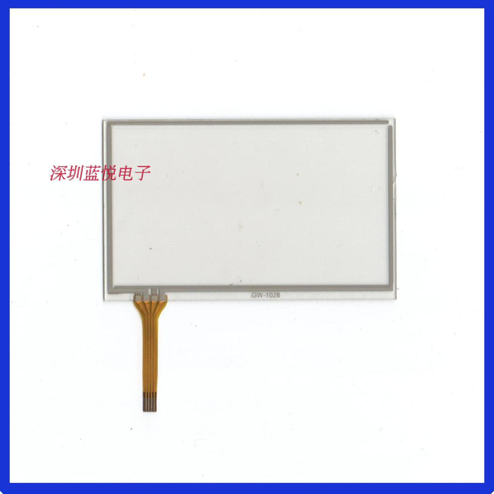 4.3 Inch Four Wire Resistive Touch Screen 102*65 Screen Screen MP3 MP5 General Navigation