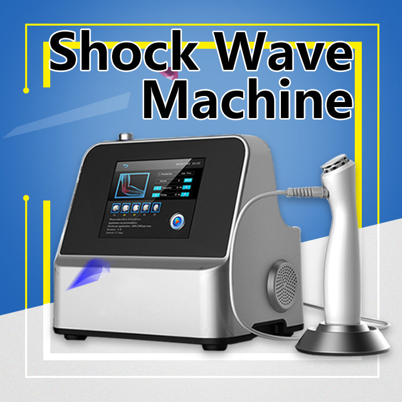 4 Bar Pro Spa Shockwave Machine Pain Relief System Ultraosnic Weight Loss Plantar Fasciitis Beauty Care