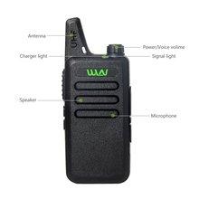 WLN KD-C1 Portátil de 2 vías de Radio en ALMACÉN RUSIA 5 W larga distancia UHF walkie talkie con EL Clip para el Cinturón