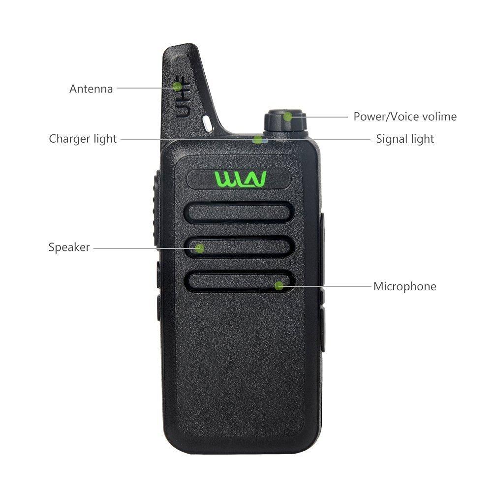 bilder für WLN KD-C1 Tragbare 2 2-wege-radio in RUSSLAND LAGER 5 Watt fern UHF walkie talkie mit FREIEM Gurt Clip