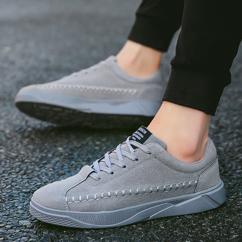 IPCCM 2018 Spring And Autumn New Wear-resistant Casual Shoes Fashion Wild Suede Tide Men's Shoes