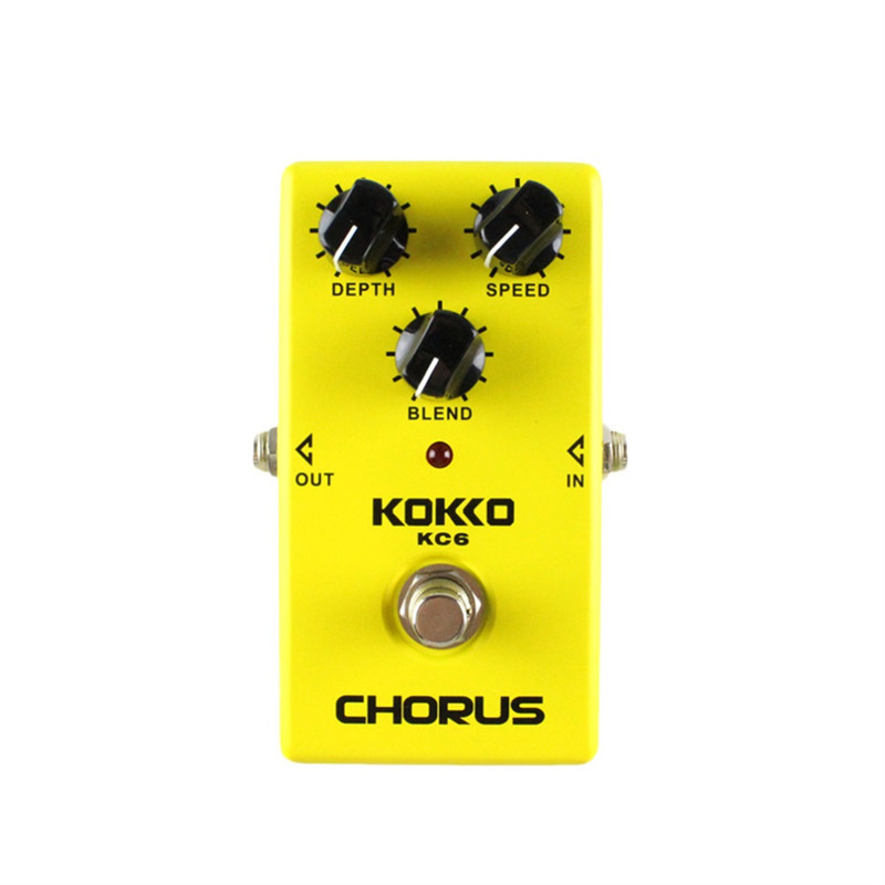KOKKO KC06 Electric Bass Guitar Effect Pedal Chorus Low Noise BBD True Bypass Professional Guitarra Pedal Effect Prats Accessory