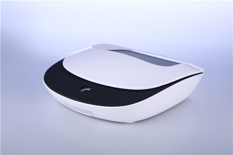 Solar energy ionizer car air purifier with HEPA filter purifier