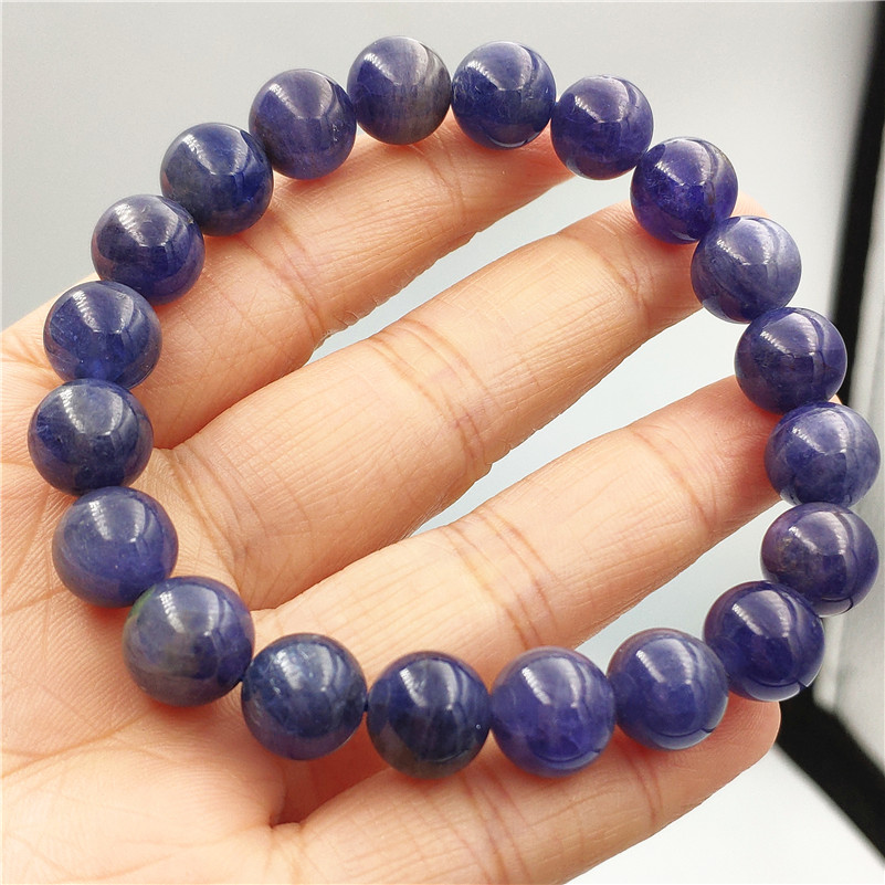 10mm Genuine Natural Tanzanite Tanzania Bracelet For Women Men Gemstone Round Beads Stretch Jewelry Blue Crystal Bracelet AAAAA10mm Genuine Natural Tanzanite Tanzania Bracelet For Women Men Gemstone Round Beads Stretch Jewelry Blue Crystal Bracelet AAAAA