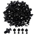Mais novo 100 Pcs Car Auto Plastic Rebites Ocos Buraco Fastener Fender Bumper Empurre Clipe Pin
